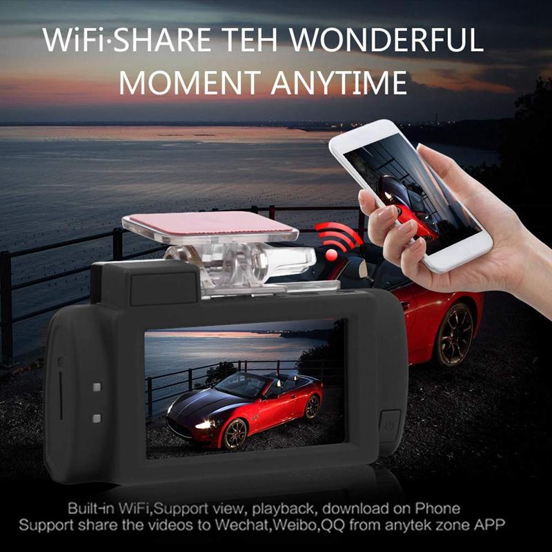 ซื้อ Anytek G200 2 7in Touch-Screen Dual Lens 4K UHD WiFi