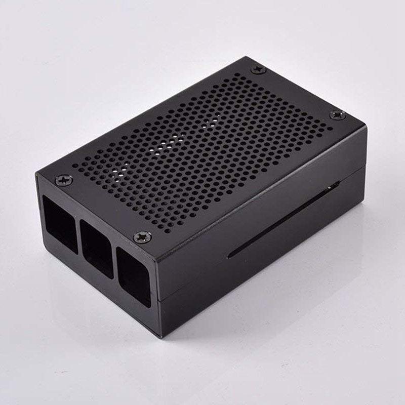 Raspberry-Pi-3-Modell-B-Gehaeuse-Aluminium-Gehaeuse-Kompatibel-mit-Raspberr-D1U8 Indexbild 5