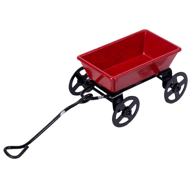 15X-1-12-Dollhouse-Miniature-Fairy-Garden-Car-red-amp-black-E3X6