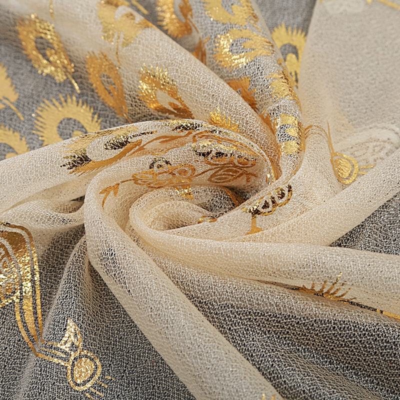 Femmes-Wrap-doux-longue-echarpe-Mesdames-chale-mousseline-de-soie-foulards-Mo-L8 miniature 5