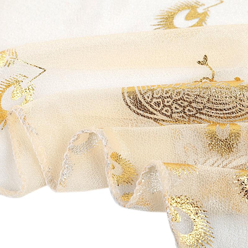 Femmes-Wrap-doux-longue-echarpe-Mesdames-chale-mousseline-de-soie-foulards-Mo-L8 miniature 6