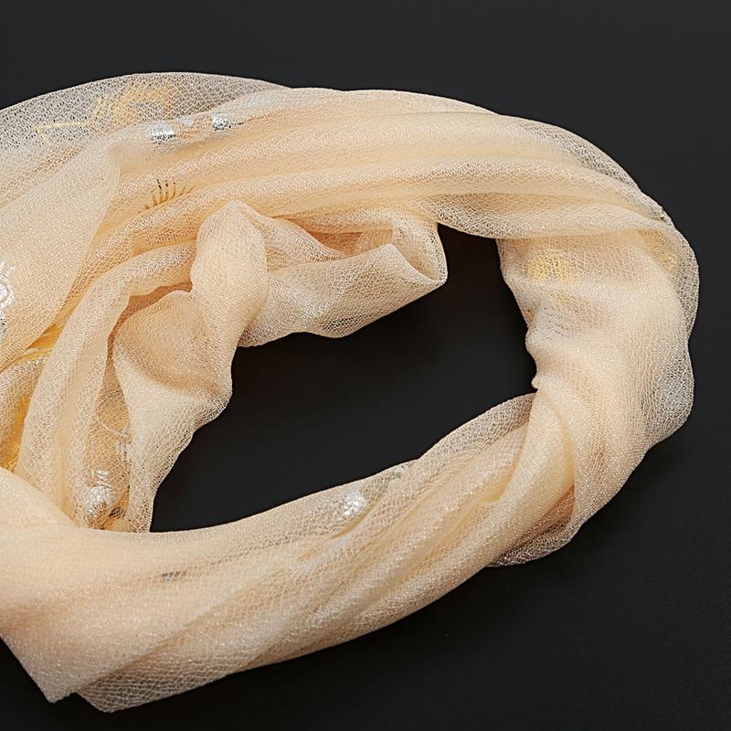 Femmes-Wrap-doux-longue-echarpe-Mesdames-chale-mousseline-de-soie-foulards-Mo-L8 miniature 7