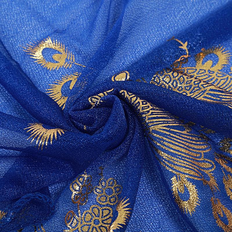 Femmes-Wrap-doux-longue-echarpe-Mesdames-chale-mousseline-de-soie-foulards-Mo-L8 miniature 14