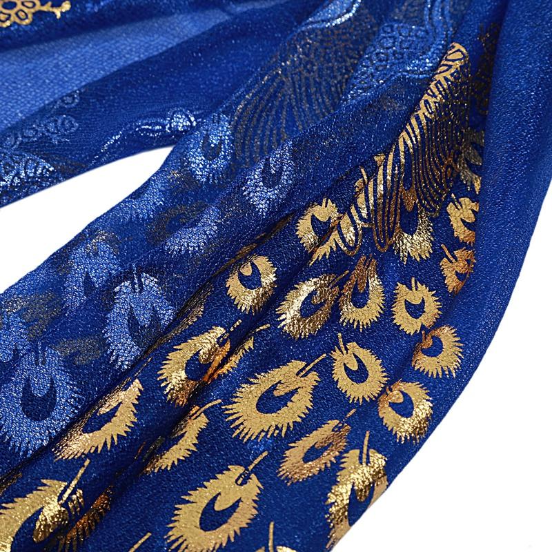 Femmes-Wrap-doux-longue-echarpe-Mesdames-chale-mousseline-de-soie-foulards-Mo-L8 miniature 16
