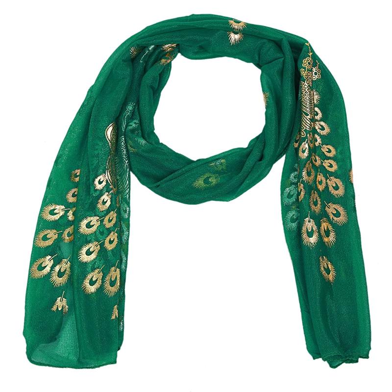Femmes-Wrap-doux-longue-echarpe-Mesdames-chale-mousseline-de-soie-foulards-Mo-L8 miniature 20