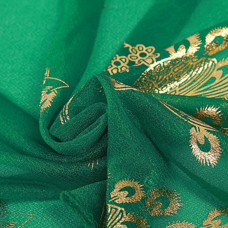 Femmes-Wrap-doux-longue-echarpe-Mesdames-chale-mousseline-de-soie-foulards-Mo-L8 miniature 22