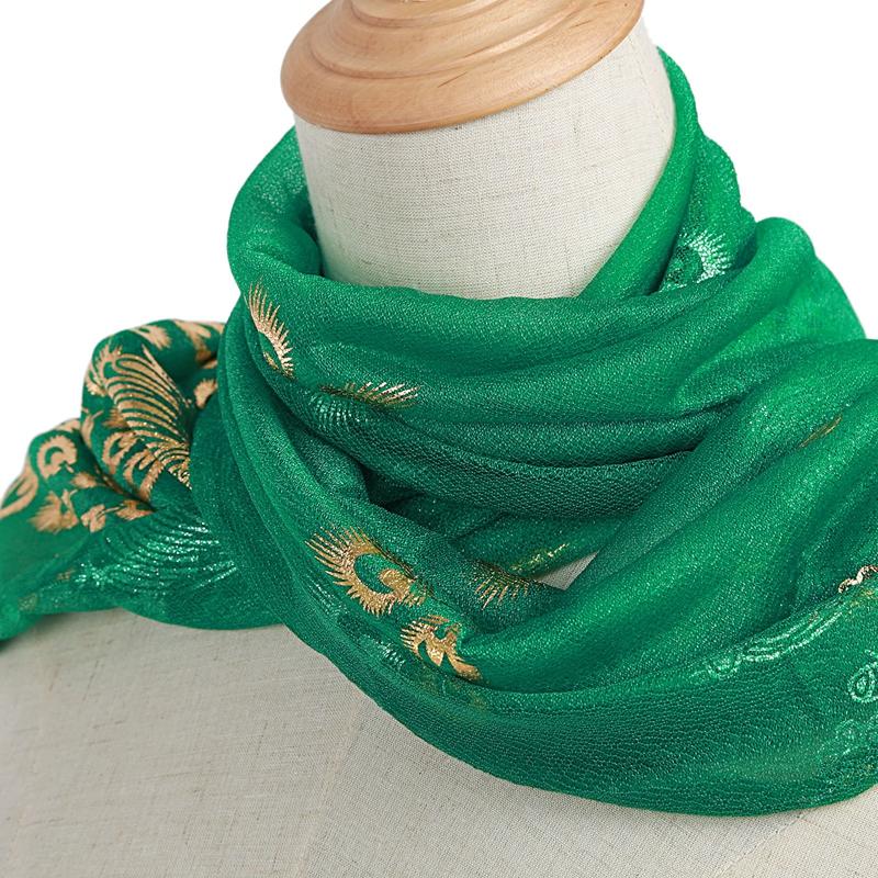 Femmes-Wrap-doux-longue-echarpe-Mesdames-chale-mousseline-de-soie-foulards-Mo-L8 miniature 24