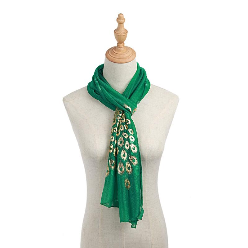 Femmes-Wrap-doux-longue-echarpe-Mesdames-chale-mousseline-de-soie-foulards-Mo-L8 miniature 25