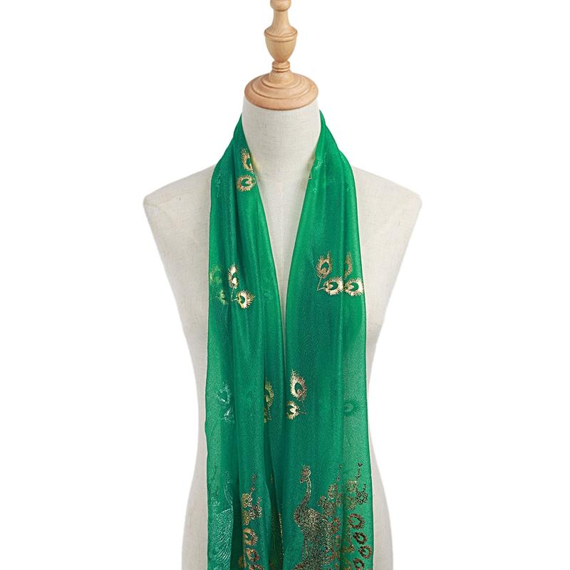 Femmes-Wrap-doux-longue-echarpe-Mesdames-chale-mousseline-de-soie-foulards-Mo-L8 miniature 26