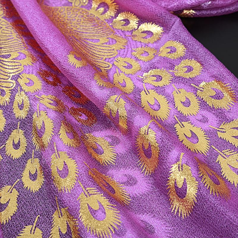 Femmes-Wrap-doux-longue-echarpe-Mesdames-chale-mousseline-de-soie-foulards-Mo-L8 miniature 31