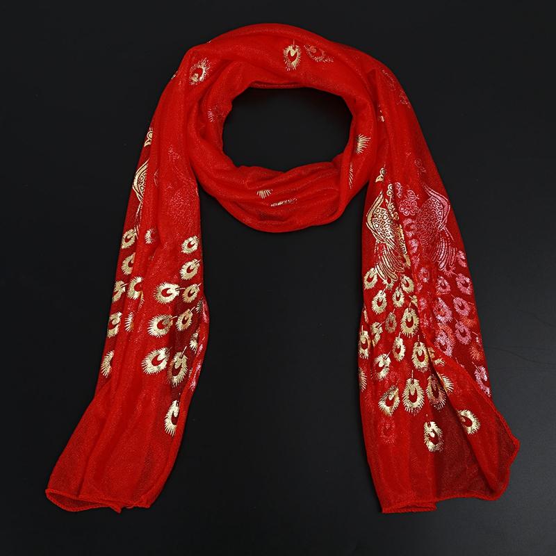 Femmes-Wrap-doux-longue-echarpe-Mesdames-chale-mousseline-de-soie-foulards-Mo-L8 miniature 45