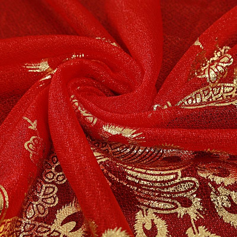 Femmes-Wrap-doux-longue-echarpe-Mesdames-chale-mousseline-de-soie-foulards-Mo-L8 miniature 48