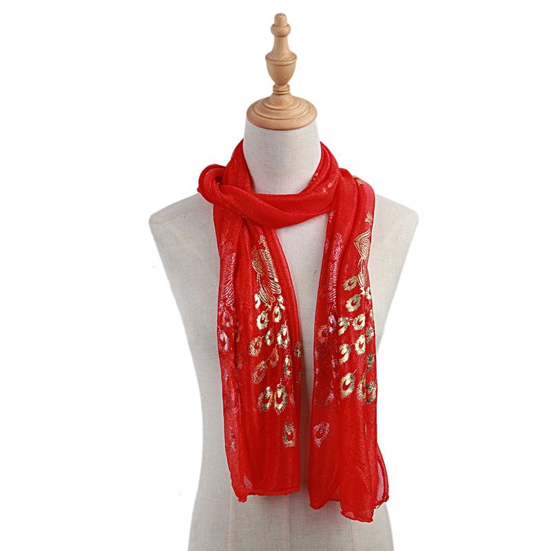 Femmes-Wrap-doux-longue-echarpe-Mesdames-chale-mousseline-de-soie-foulards-Mo-L8 miniature 49