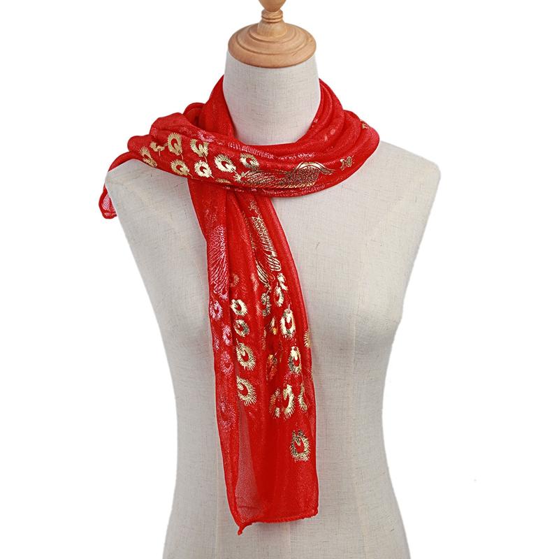 Femmes-Wrap-doux-longue-echarpe-Mesdames-chale-mousseline-de-soie-foulards-Mo-L8 miniature 50