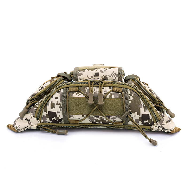 2cc544a6040f Details about Free Knight 1L Molle Bag Waterproof Waist Fanny Pack Hiking  Fishing Sport H P0W1