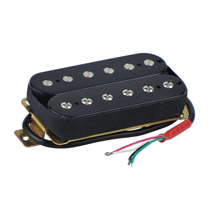 electric guitar humbucker pickups bridge alnico v pickup black y7z9 193571185969 ebay. Black Bedroom Furniture Sets. Home Design Ideas