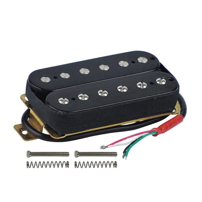 AgréAble 2x(guitare Électrique Humbucker Pick-ups Pont Alnico V Pick-up Noir U7g2)