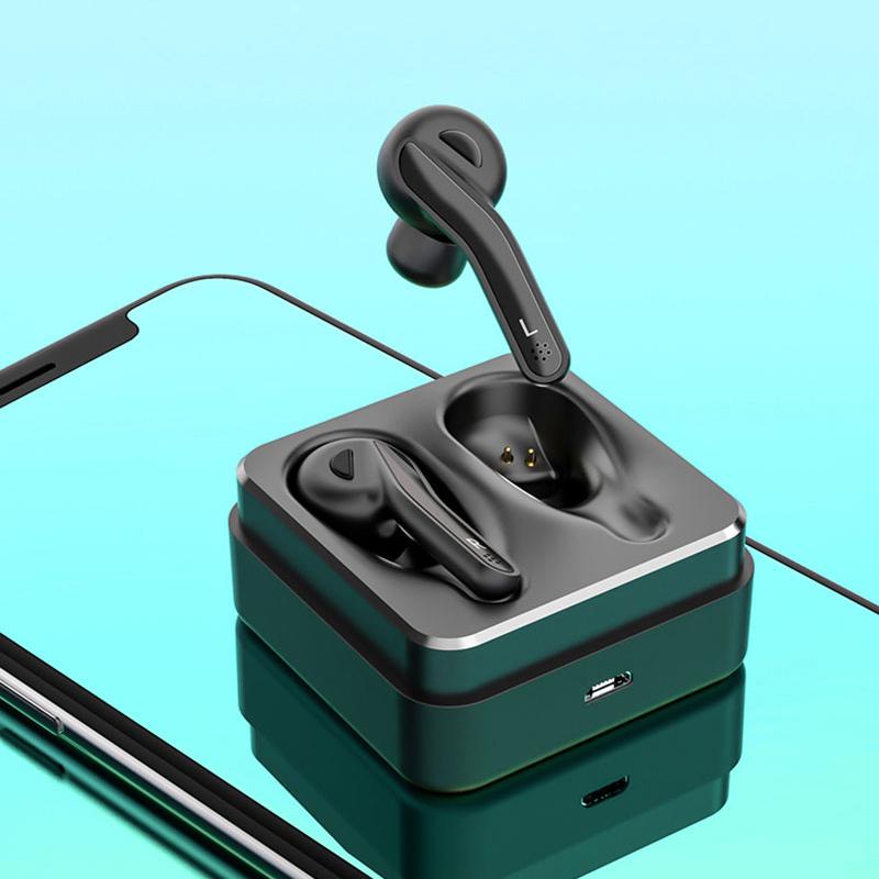 1X-Ipx5-Etanche-Bluetooth-Casque-A-Ecouteurs-V5-0-Tws-Ecouteurs-Sans-Fil-Su-Q2M3 miniature 4