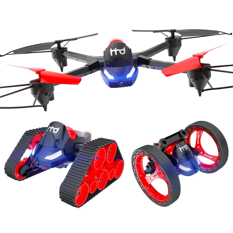1X(Tres-En-Uno Teléfono Móvil Wifi Control Remoto Drone  de Rebote Tanque de Q1Z7  sport caldi
