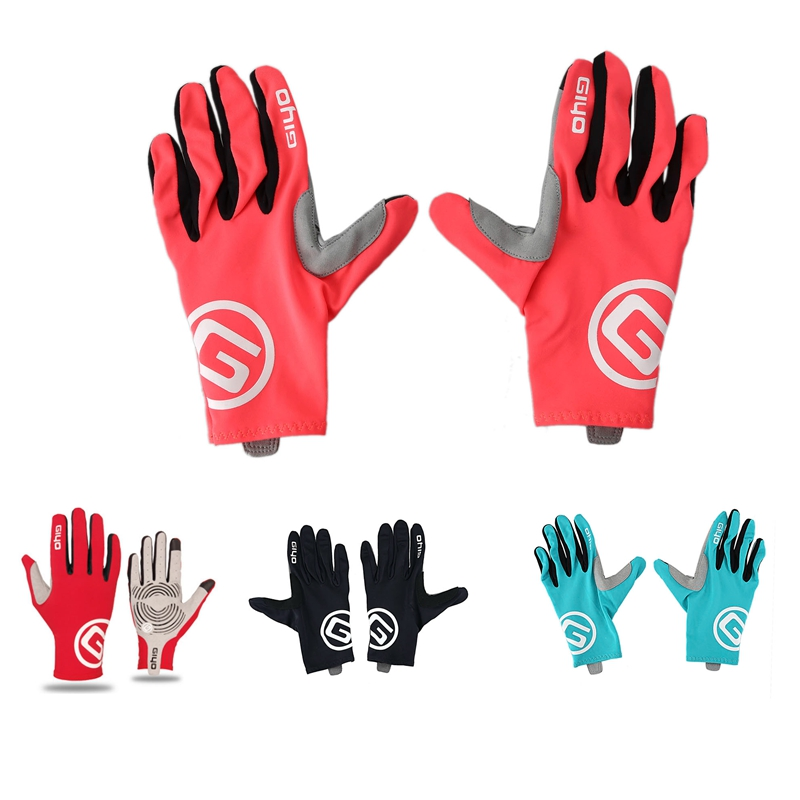 Men/'s Mountain Bike Bicycle Breathable Riding Gloves Full Finger Bicycle Gloves