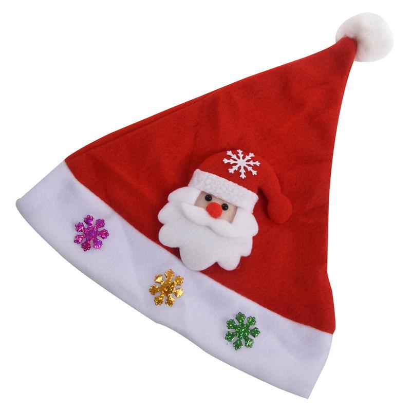 Babbo Natale con il LED cappello cappello cappello dei bambini cappello di N AB