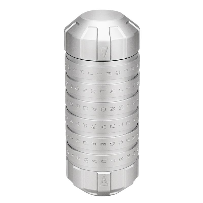 1X-Mode-Nouveau-Style-Jouets-Educatifs-Cryptex-Verrouille-Des-Idees-Cadeaux-M9L9 miniature 2