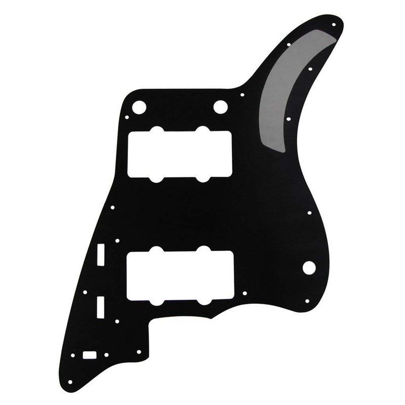 Perle-Noire-Pickguard-De-Guitare-4-Plis-Plaque-A-Gratter-Pour-Americains-Ai-F6W9 miniature 5