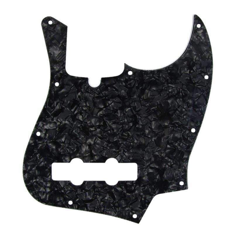 10-fori-Scratch-Plate-Pickguard-Guitar-Guard-Plate-con-viti-per-Fender-J-Ba-Z7I5 miniatura 2