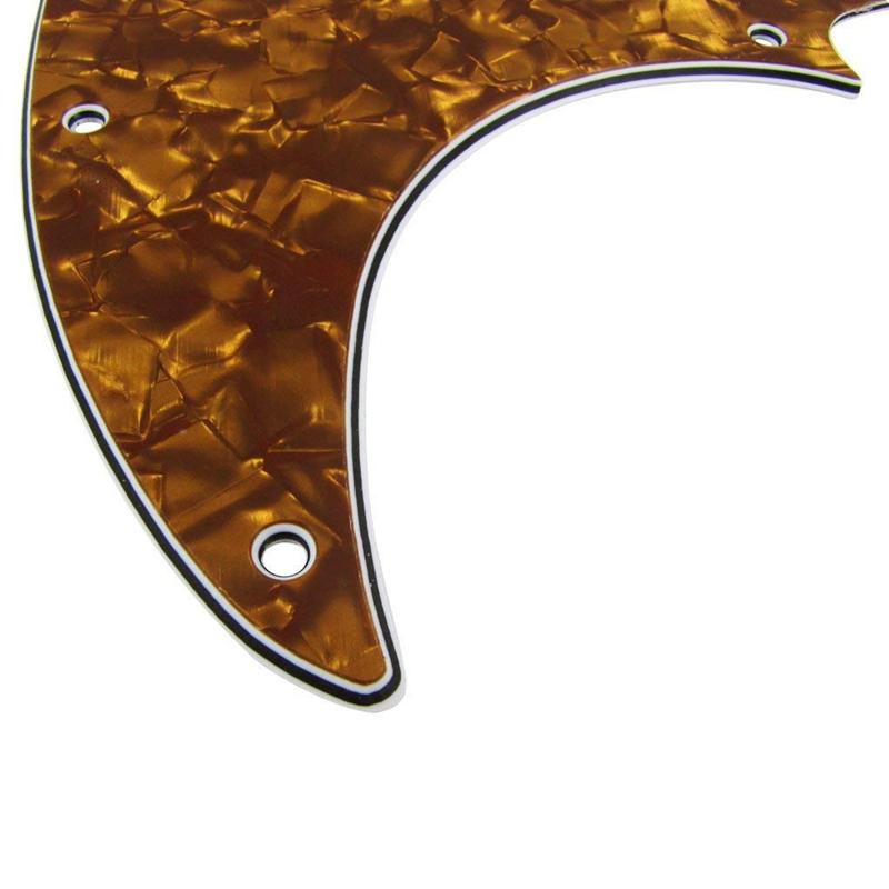 3X-10-Trous-Plaque-A-Gratter-Pickguard-Guitare-Plaque-De-Garde-Avec-Vis-Pou-N4K8 miniature 28