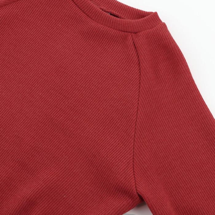 Femme-Mode-Automne-Hiver-O-Cou-A-Manches-Longues-Chaud-Robe-De-Chandail-En-Q1I3 miniature 16
