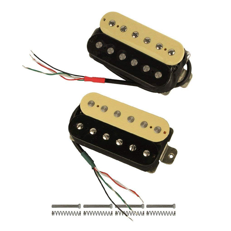 high output alnico v guitar pickup double coil humbucker pickups neck and b d2d7 193571185815 ebay. Black Bedroom Furniture Sets. Home Design Ideas