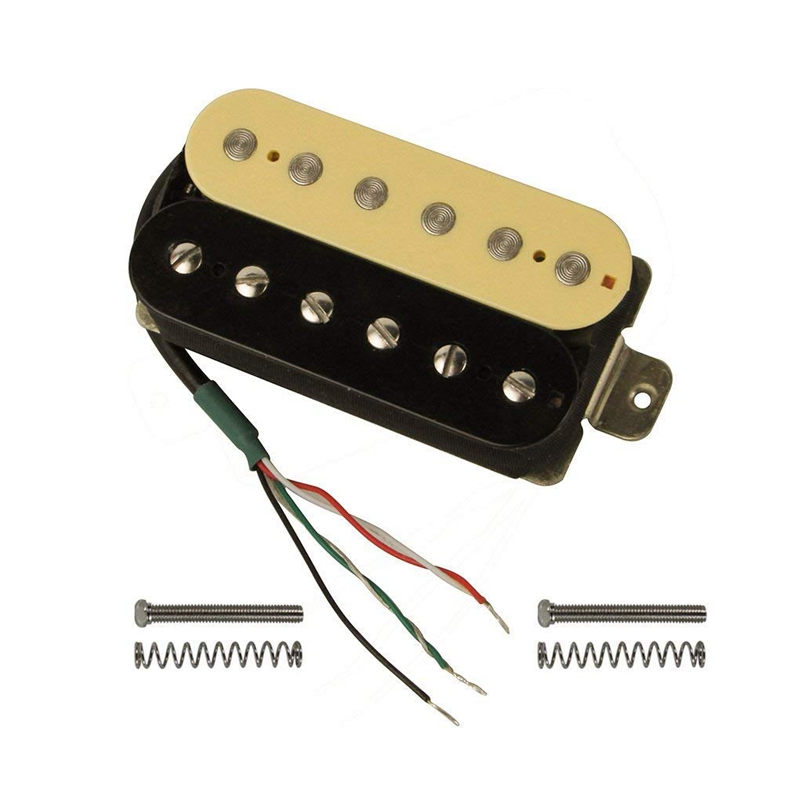 electric guitar humbucker pickups alnico v pickup zebra black s9e8 ebay. Black Bedroom Furniture Sets. Home Design Ideas
