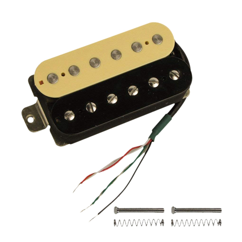 electric guitar humbucker pickups bridge alnico v pickup zebra black a8v3 193571185839 ebay. Black Bedroom Furniture Sets. Home Design Ideas
