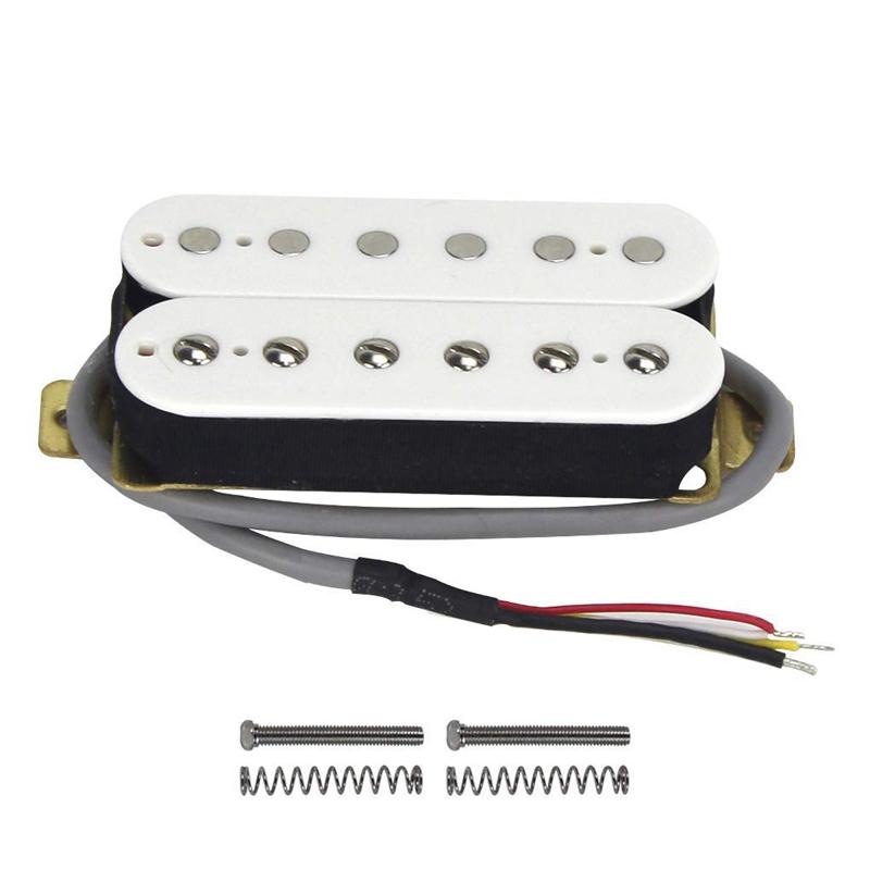 thumbnail 4 - Electric-Guitar-Humbucker-Pickups-Alnico-V-Pickup-White-C4V3