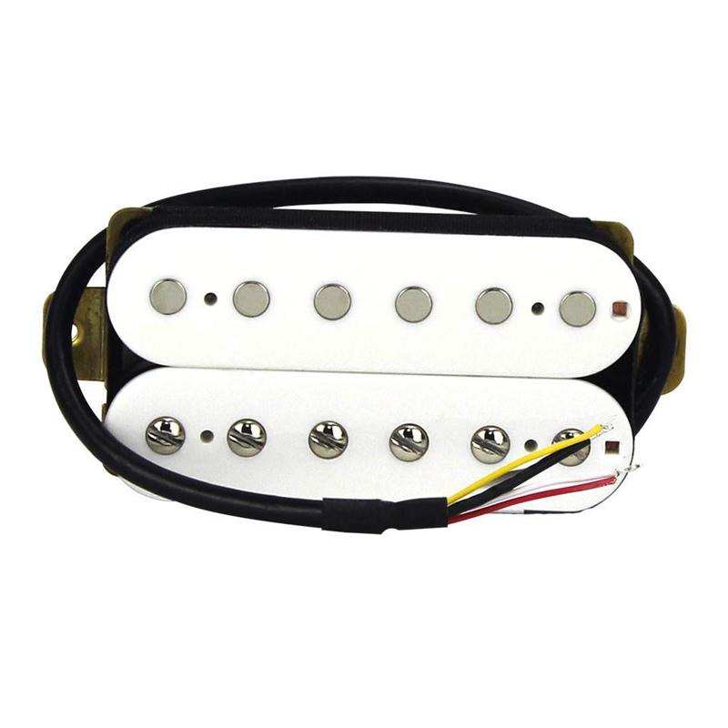 thumbnail 5 - Electric-Guitar-Humbucker-Pickups-Alnico-V-Pickup-White-C4V3