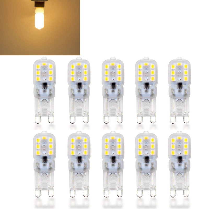 10-X-G9-5W-LED-Dimmable-Capsule-Bulb-Replace-Light-Lamps-AC220-240V-Z7W8 thumbnail 3