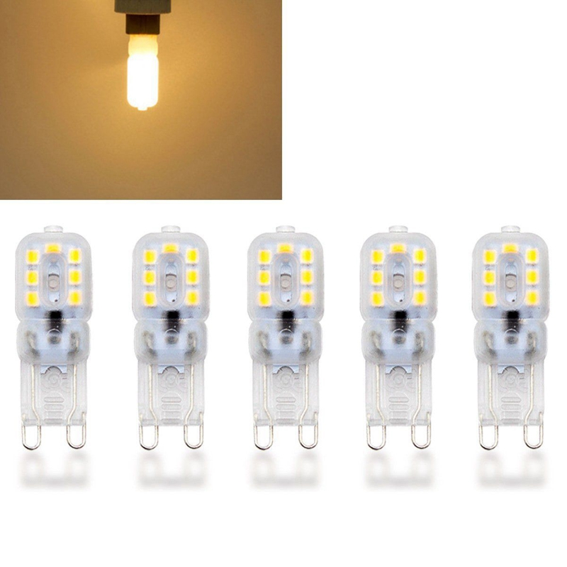 10-X-G9-5W-LED-Dimmable-Capsule-Bulb-Replace-Light-Lamps-AC220-240V-Z7W8 thumbnail 5