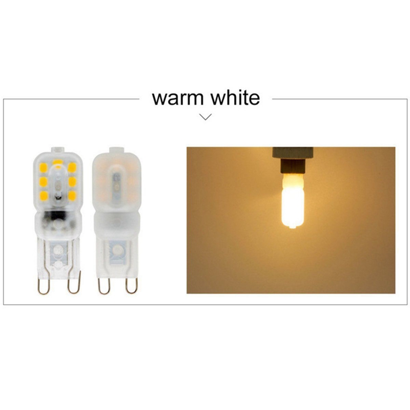 10-X-G9-5W-LED-Dimmable-Capsule-Bulb-Replace-Light-Lamps-AC220-240V-Z7W8 thumbnail 6