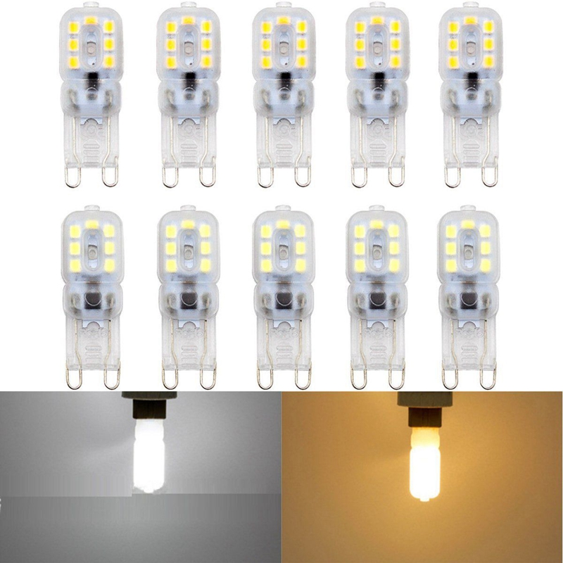 10-X-G9-5W-LED-Dimmable-Capsule-Bulb-Replace-Light-Lamps-AC220-240V-Z7W8 thumbnail 9