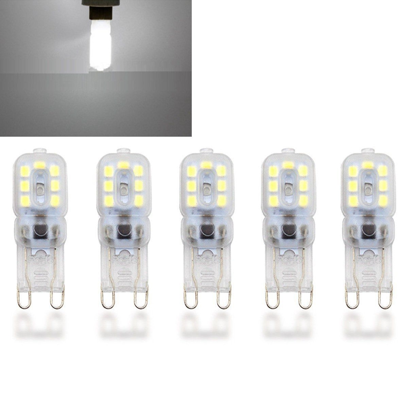 10-X-G9-5W-LED-Dimmable-Capsule-Bulb-Replace-Light-Lamps-AC220-240V-Z7W8 thumbnail 14