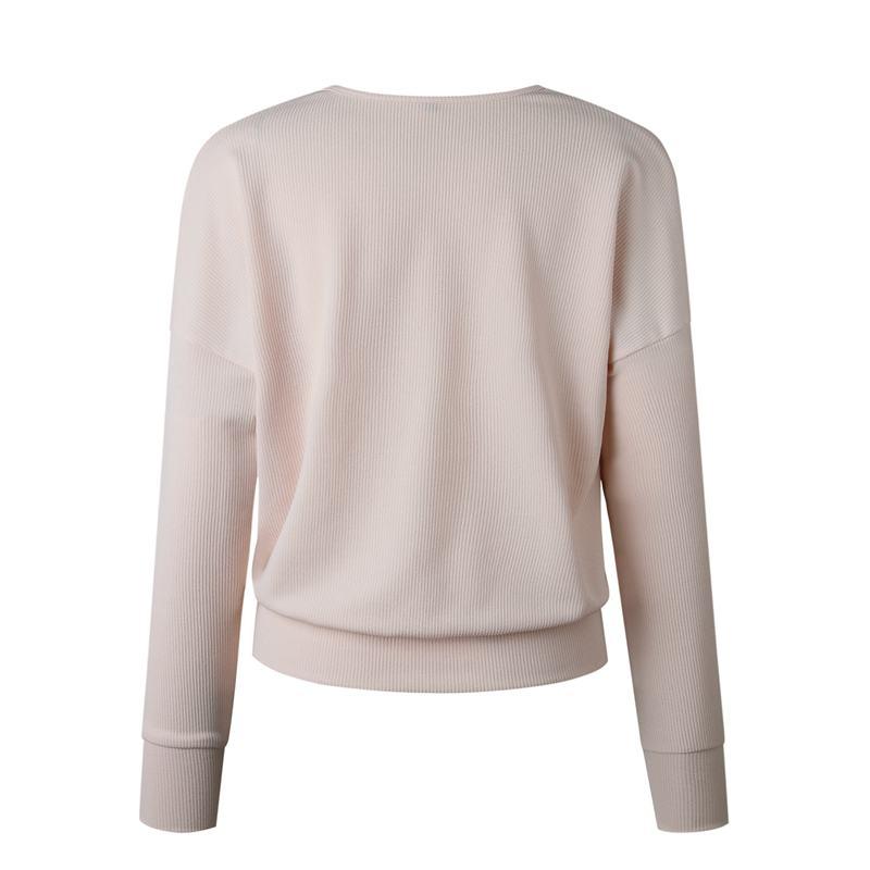 1X-Femme-Mode-Col-En-V-a-Manches-Longues-Chandail-En-Tricot-Dames-Decontrac-G2O7 miniature 25