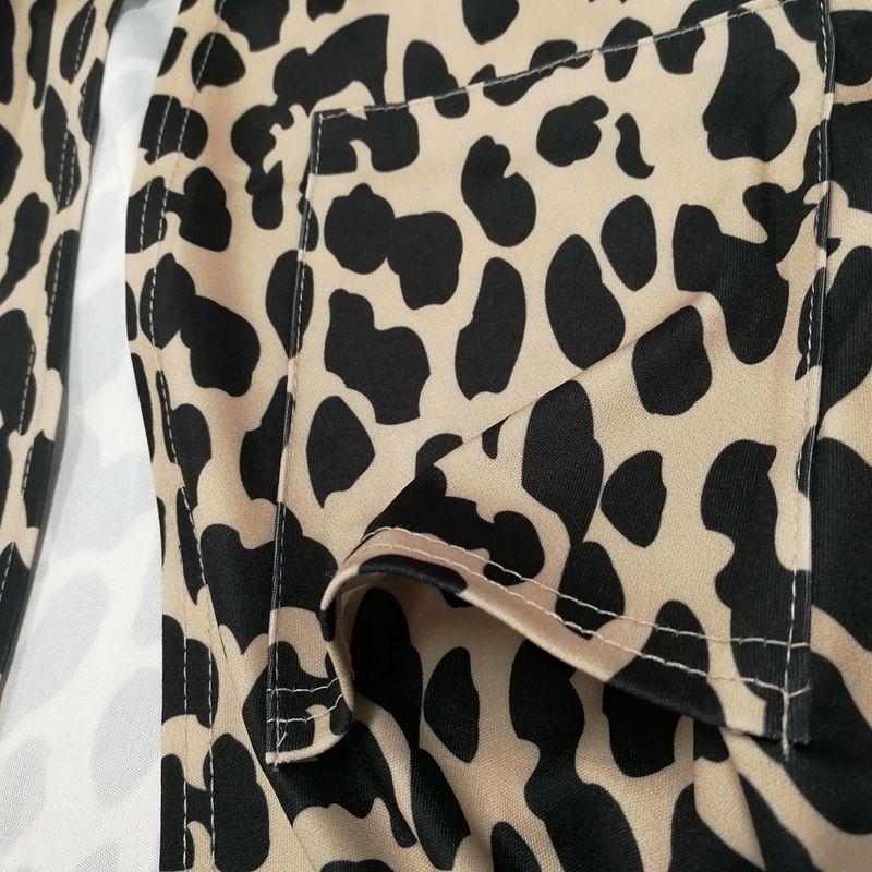 Blusa-Cardigan-Delantero-Abierto-De-Estampado-De-Moda-De-Mujer-Chaqueta-Rop-X2D8 miniatura 6
