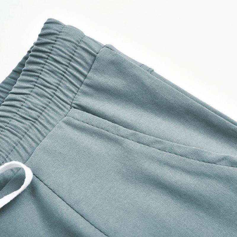 Pantalones-Lapiz-Multibolsillo-De-Moda-Para-Mujer-Pantalones-Largos-Elastic-N4D7 miniatura 9