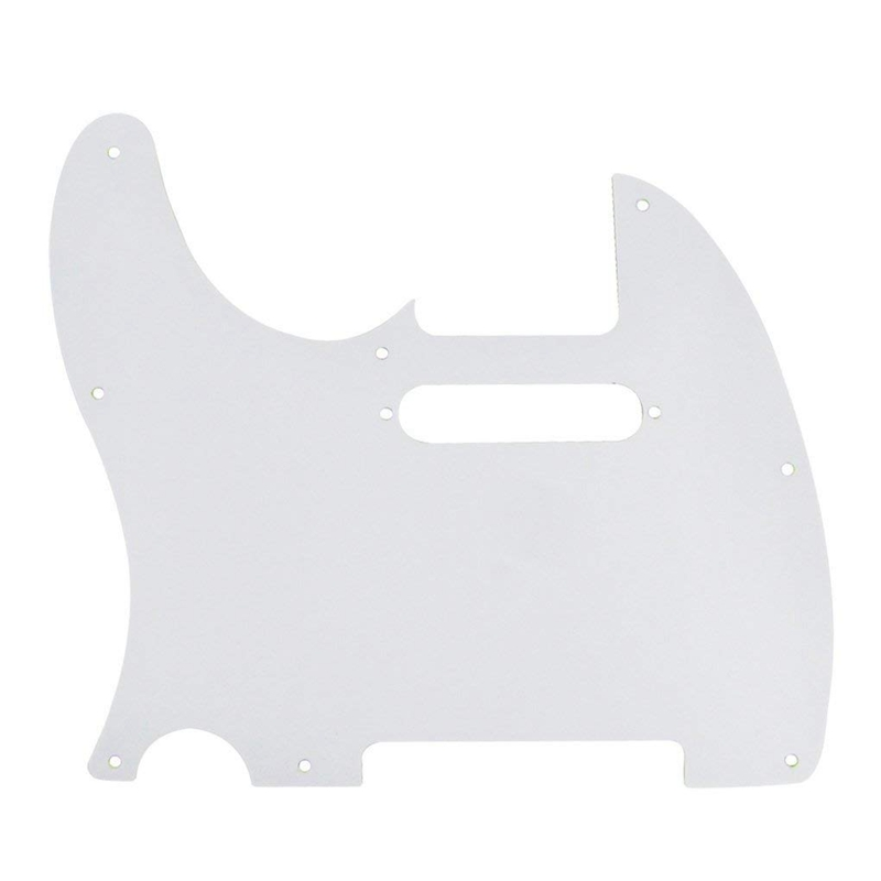 4-Plis-de-Tele-Pickguard-de-Guitare-8-Trous-Pour-Telecaster-Guitare-de-Styl-H2L5 miniature 11