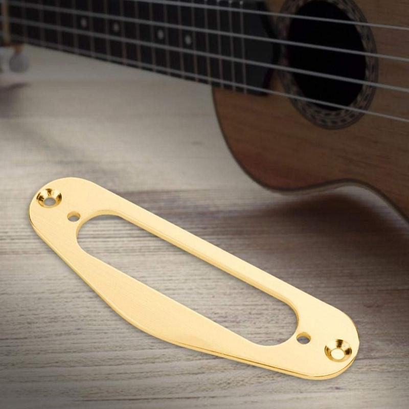2X-2-Stuecke-Gitarre-Pickup-Rahmen-Montagering-Einzelspule-Metall-Flache-Hum-A3Y3 Indexbild 7