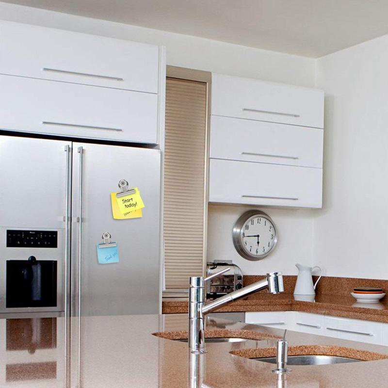 2X-18-x-Heavy-Duty-Refrigerateur-Pince-A-Crochet-Magnetique-Avec-Aimant-Neo-H2C8 miniature 8
