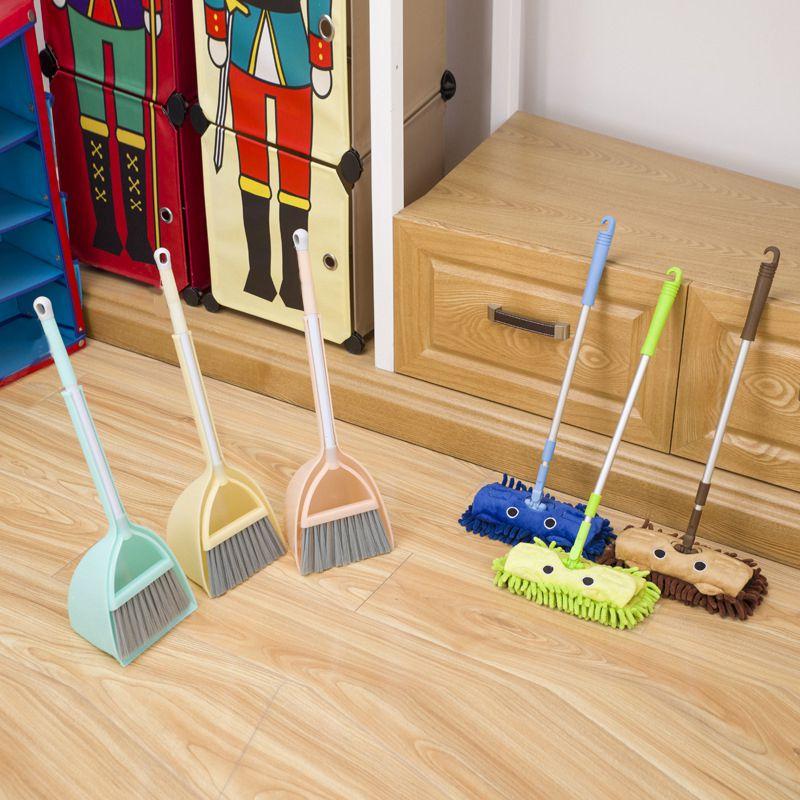 Juego-De-3-Juegos-De-Limpieza-Para-Ninos-Juguetes-De-Dibujos-Animados-Para-E7G2 miniatura 11