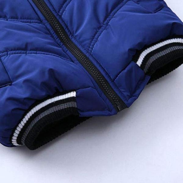 Manteau-Pour-Garcons-Filles-Bebe-Bambin-Vetement-De-Coton-Epais-D-039-Hiver-Pou-Q2L7 miniature 6