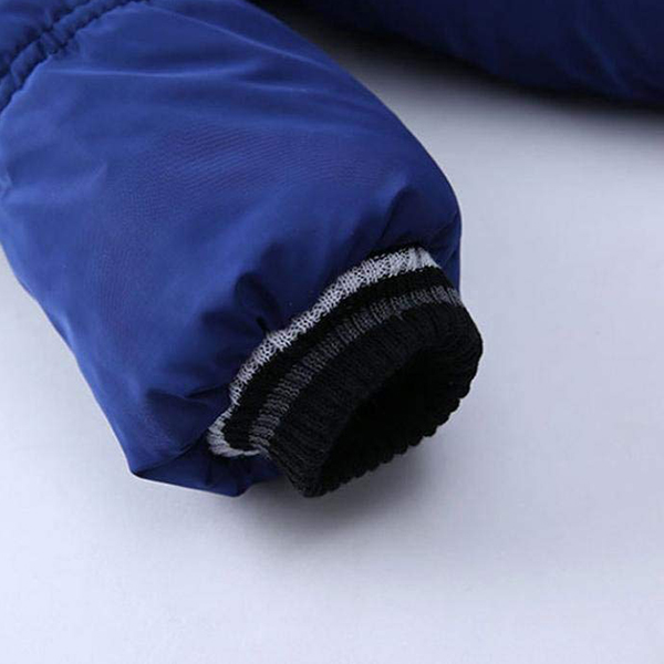 Manteau-Pour-Garcons-Filles-Bebe-Bambin-Vetement-De-Coton-Epais-D-039-Hiver-Pou-Q2L7 miniature 8