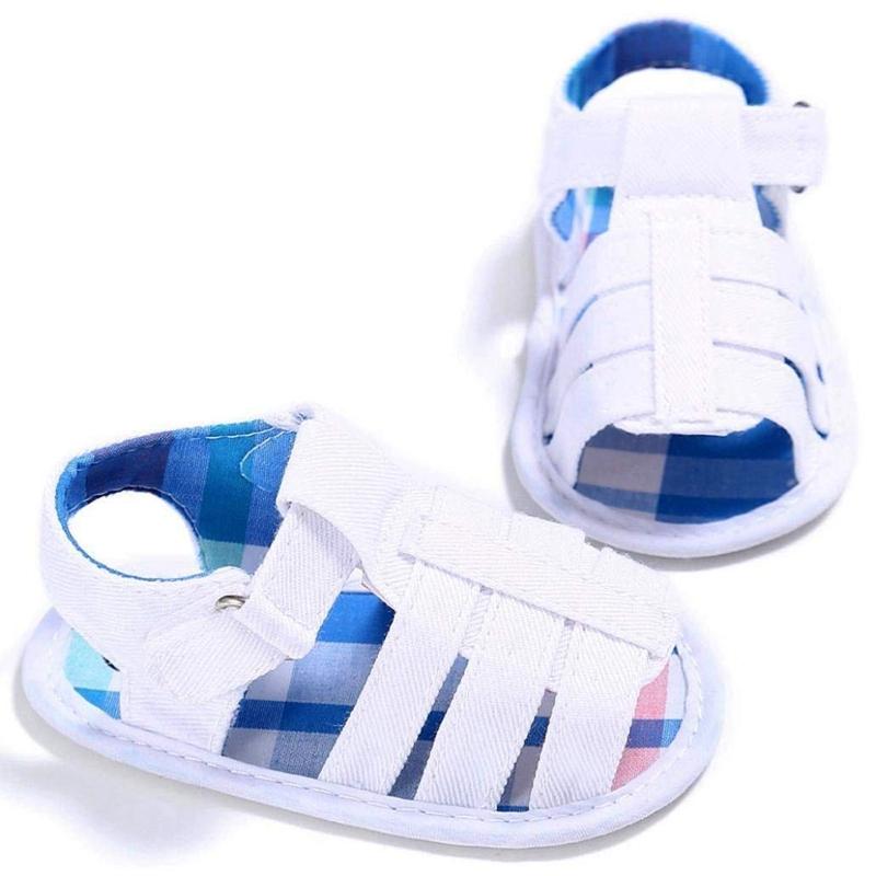 Baby-Infant-Kids-Girl-boys-Soft-Sole-Crib-Toddler-Newborn-Sandals-Shoes-E9T8 thumbnail 4